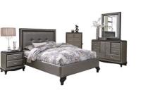 6 Contemporary Gray Bedroom Sets