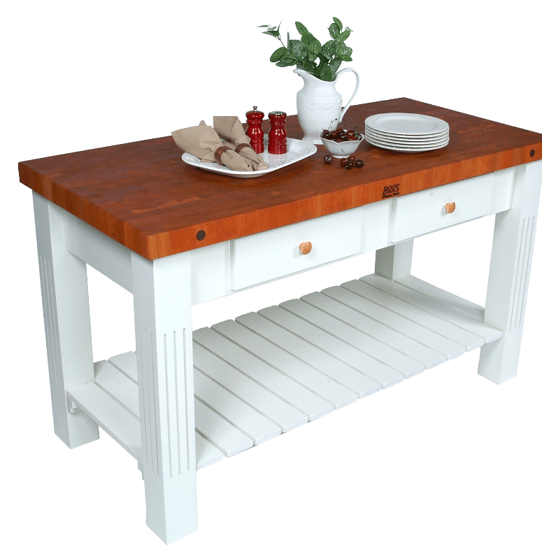 7 Prep Tables With Wood Top For Your Kitchen