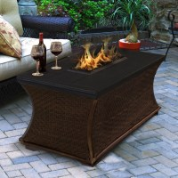 9 Fire Pit Tables For The Outdoor Area - Cute Furniture