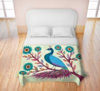 Awesome Peacock Bedding Sets for a Very Cool Bedroom!