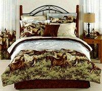 13 Beautiful Horse Print Bedding Sets!