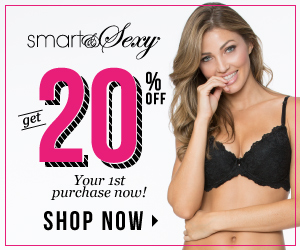 Get 20% OFF NOW! Be Smart and Sexy!