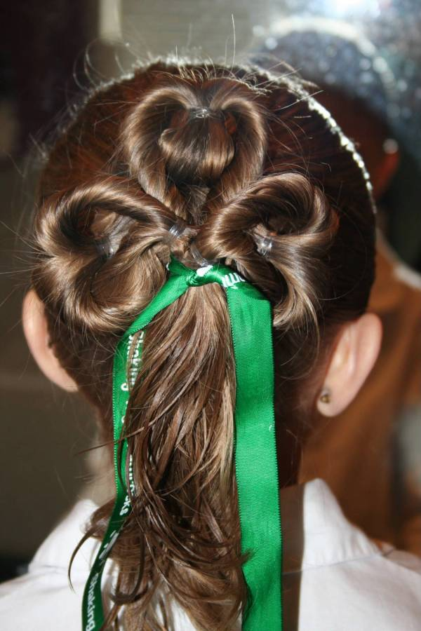 St Patricks Day Hairstyles. 1050 x 1575.Hairstyles New Leaf