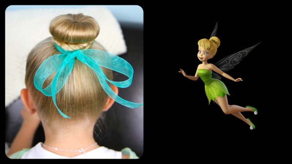 Tinker Bell Hair Bun  Disney Hairstyles. 2048 x 1152.Cute Hairstyles 7 Year Olds