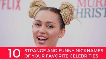 funny celebrity nicknames