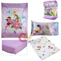 Disney Tinkerbell Fairies Toddler Bedding Comforter Set ...