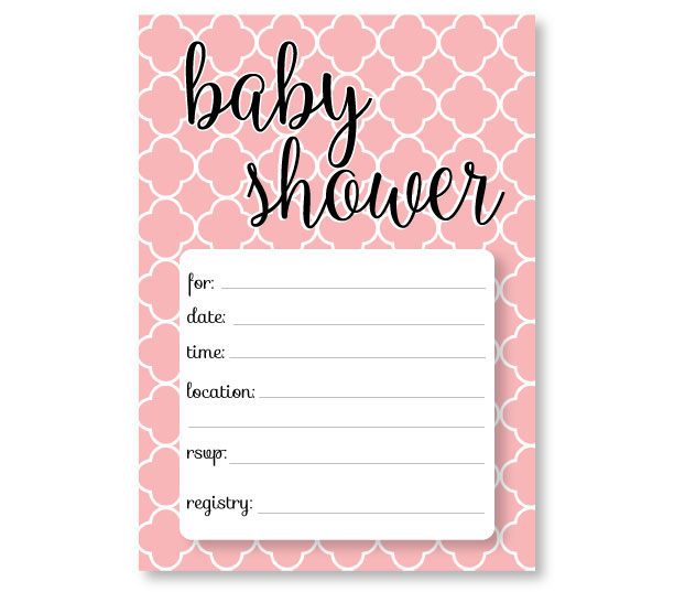 Free Baby Shower Invitation Templates - Printable baby shower - free baby shower downloadable invitation templates