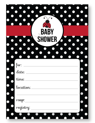 Free Baby Shower Invitation Templates - Printable baby shower