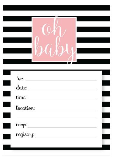 Free Baby Shower Invitation Templates - Printable baby shower - free baby invitation templates