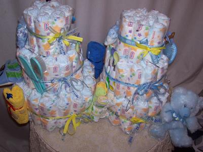 Diaper Cakes For Baby Boy Showers Cutestbabyshowerscom