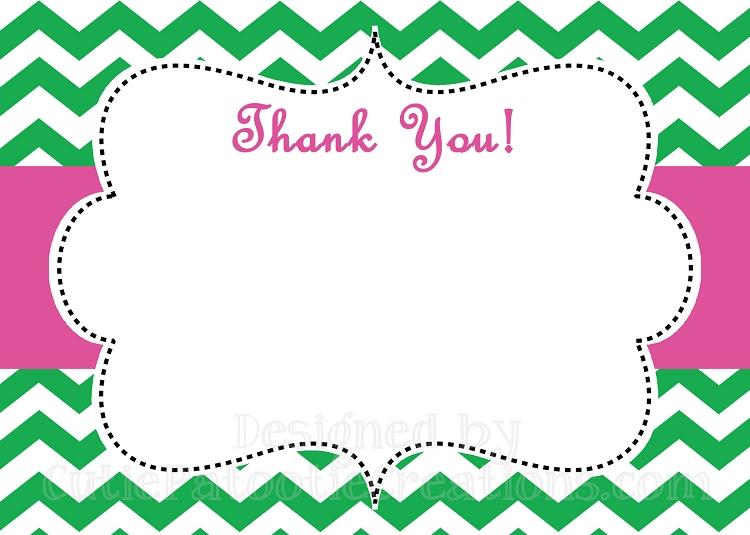 print a thank you card - Ozilalmanoof - printable thank you note