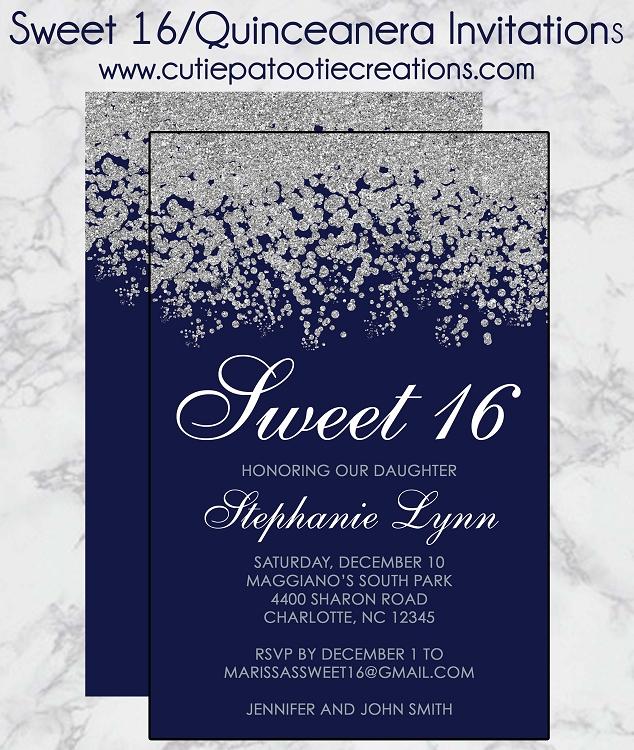 samples of birthday invitation cards