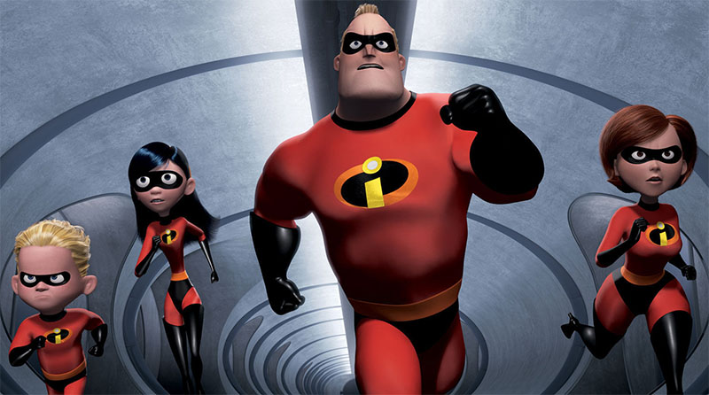 pixar the incredibles