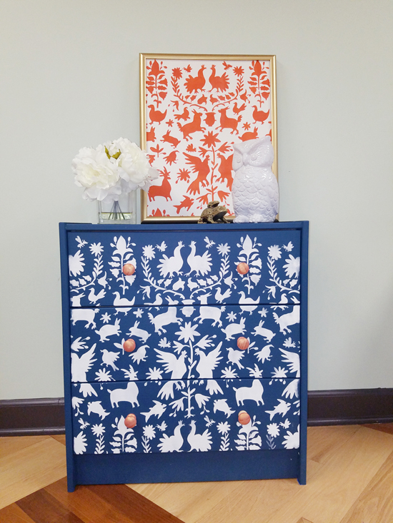Steal The Look Using Stencils Otomi Wall Art