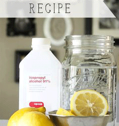 Do It Yourself Glass Cleaner Recipe