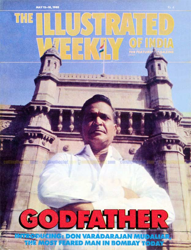 Varadarajan Mudaliar, the man who inspired Nayagan and Dayavan, on the cover of Illustrated Weekly of India