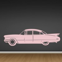Classic Car Vinyl Wall Decal - Cutzz