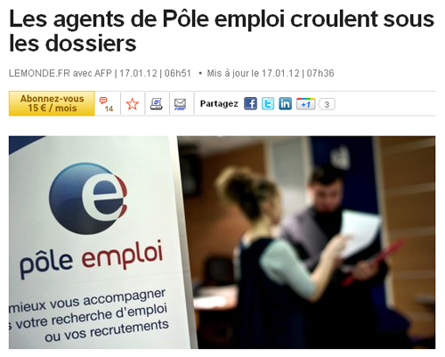 peut on faire son cv a pole emploi