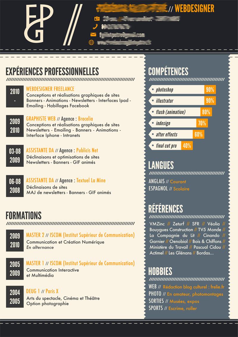 cv designer graphique print
