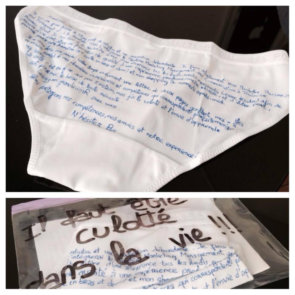 cv et lettre de motivation originaux
