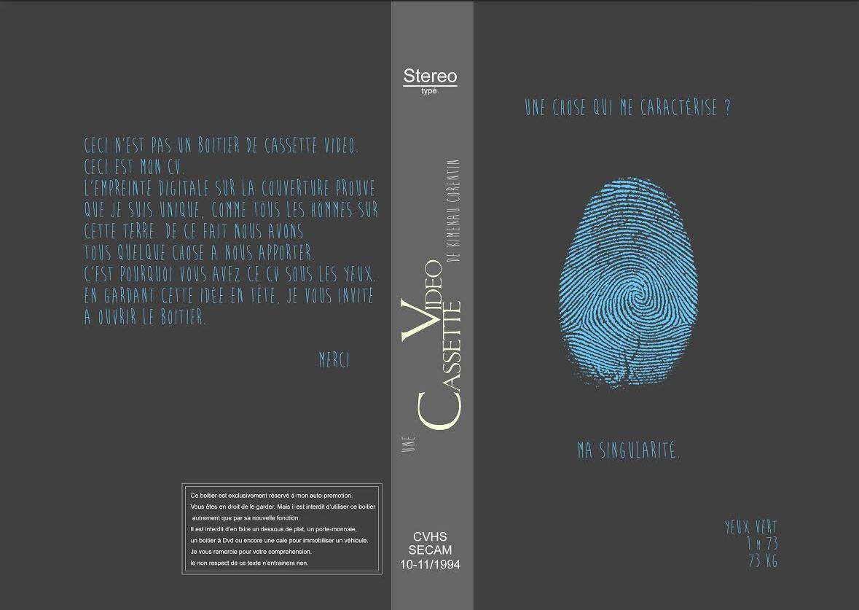 cv original sur cassette