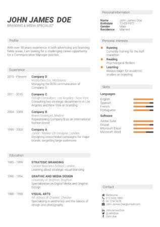 powerful resume templates free powerful resume templates smart
