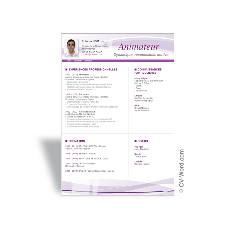 commande simple open cv
