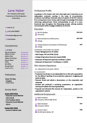 CV Writing - Services - The CV Centre