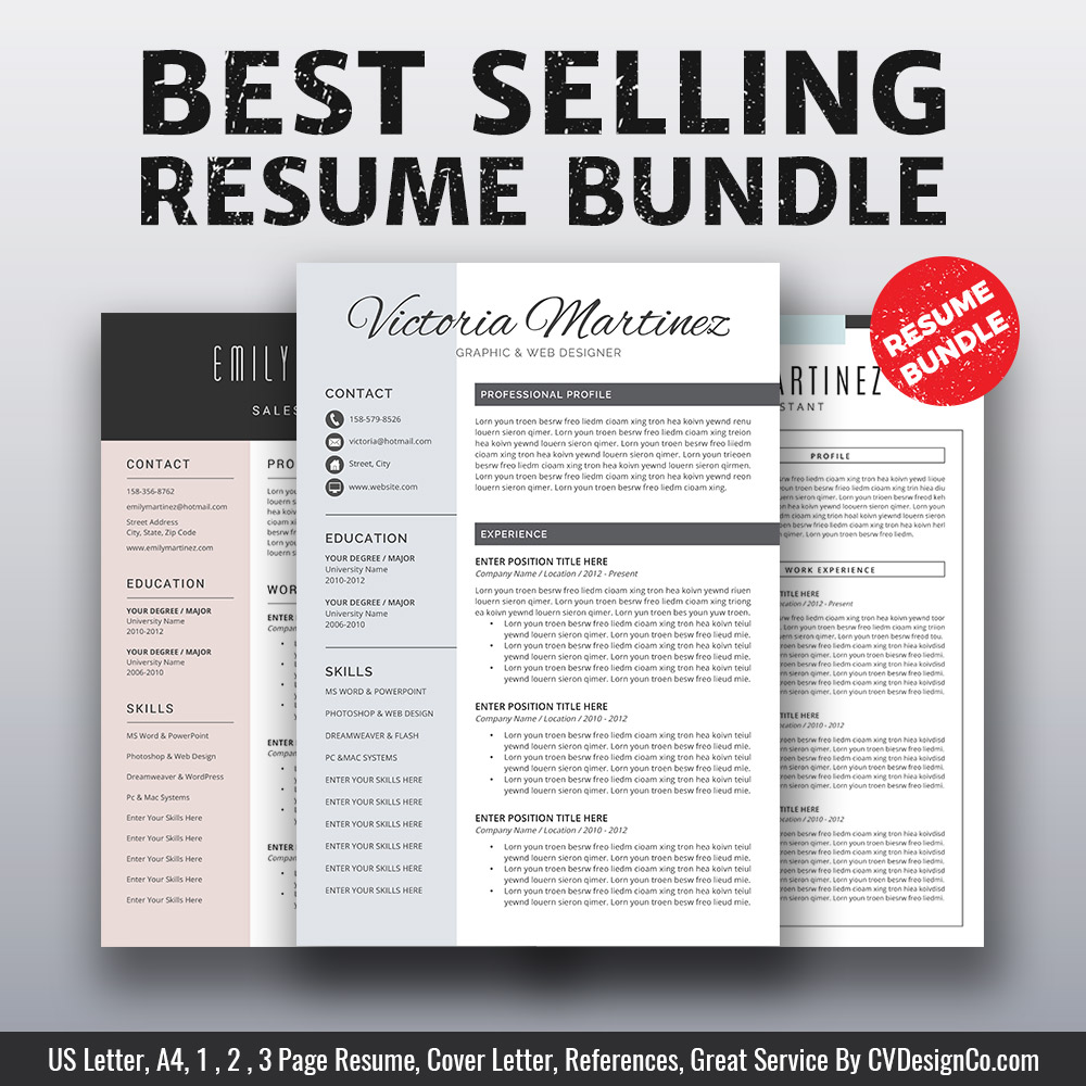 resume templates that will stand out