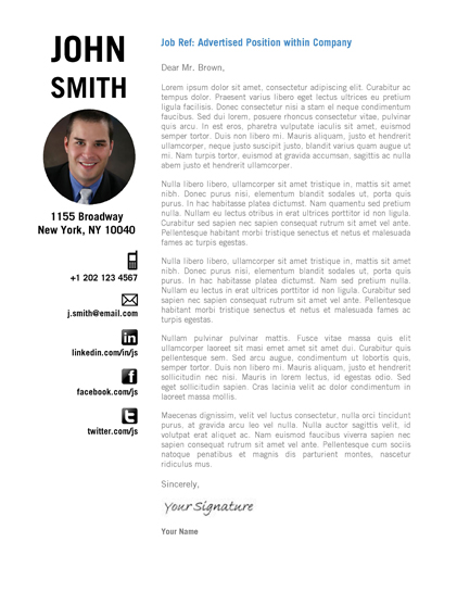 Creative Resume Template by CVfolio Resumes - creative cover letter
