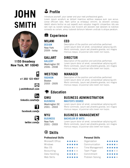 Creative Resume Template by CVfolio Resumes - creative resume templates microsoft word