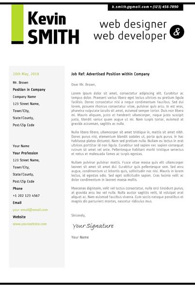 website design cover letter - Berabdglev
