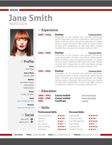 Modern Resume Template + Cover Letter + Portfolio - modern resume formats