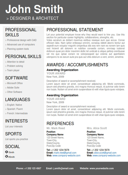 Best Resume Format Architects Construction Operation Manager Resume Sample Professional Resume Template Cover Letter Portfolio