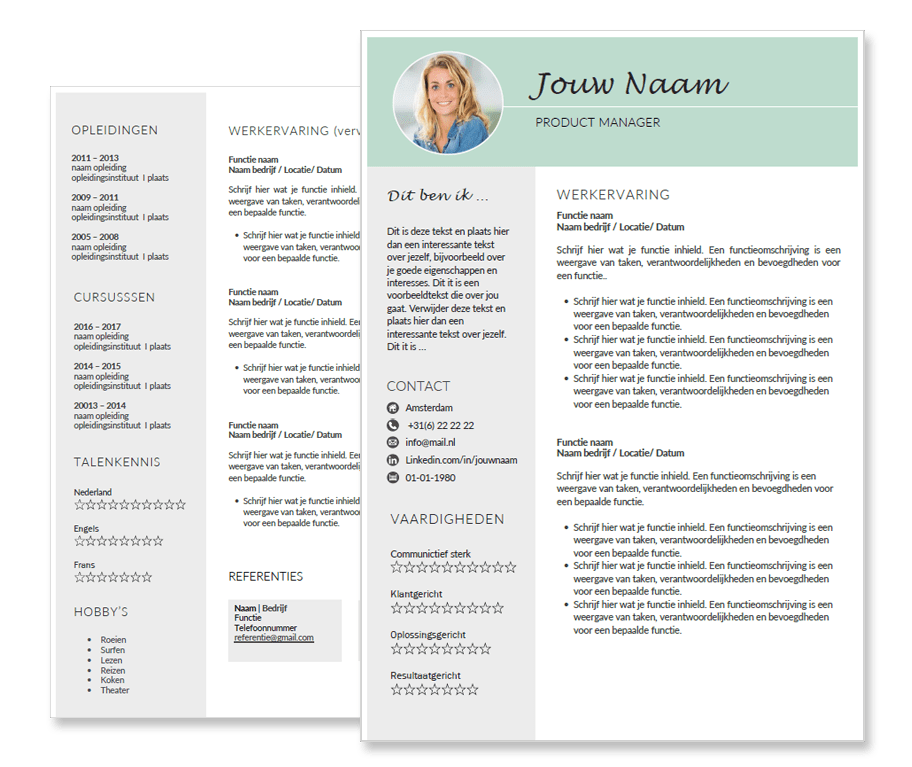 it helpdesk cv template