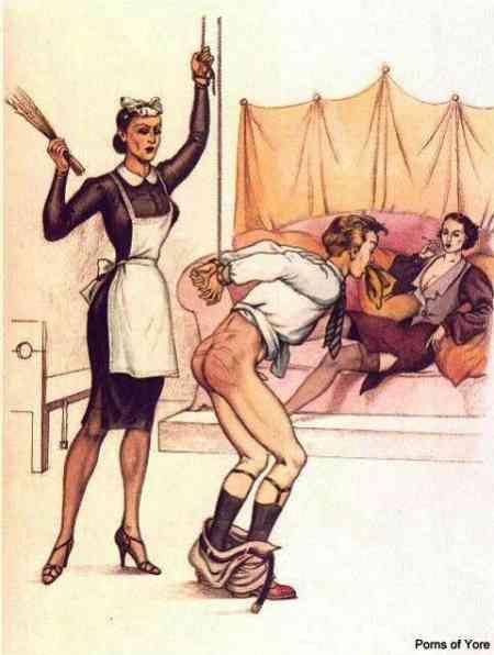 femdom punishment drawings