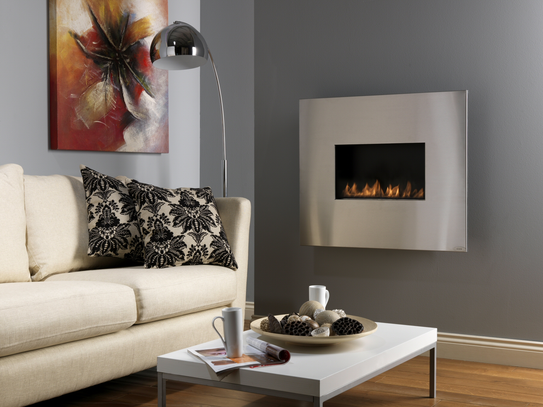 Angel Flueless Gas Fire Cvocouk