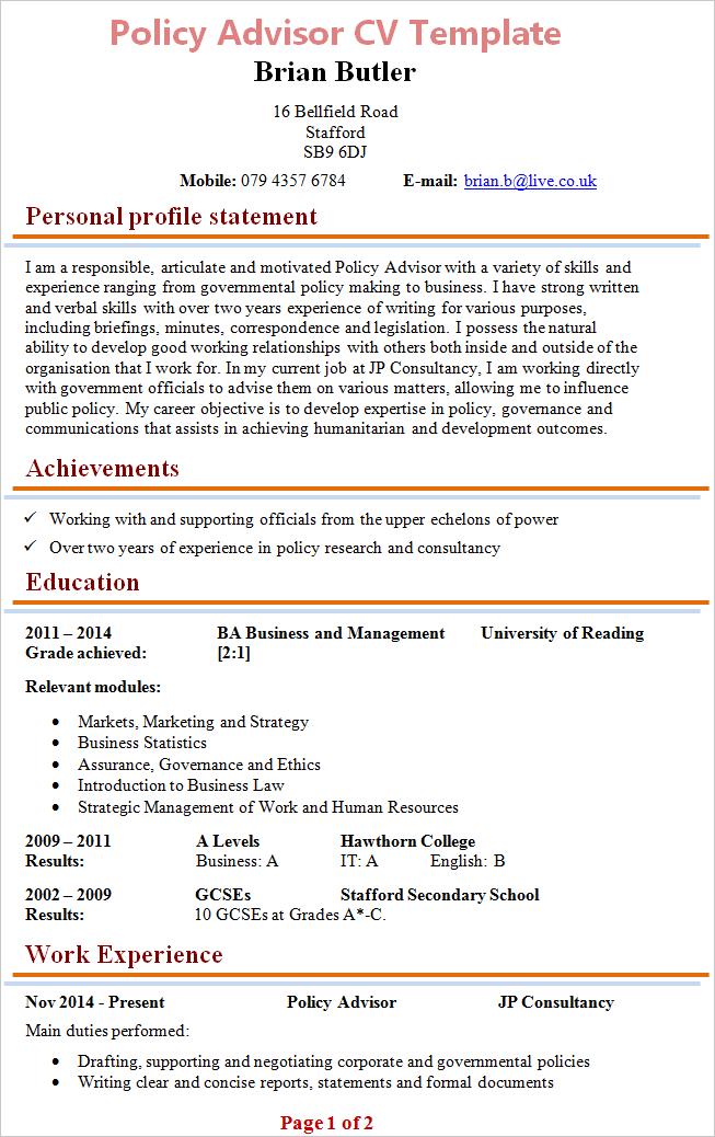 Cv Sample For Job Cv For Student Example Of Student Cv Sample Cv Cv Template Jobsite