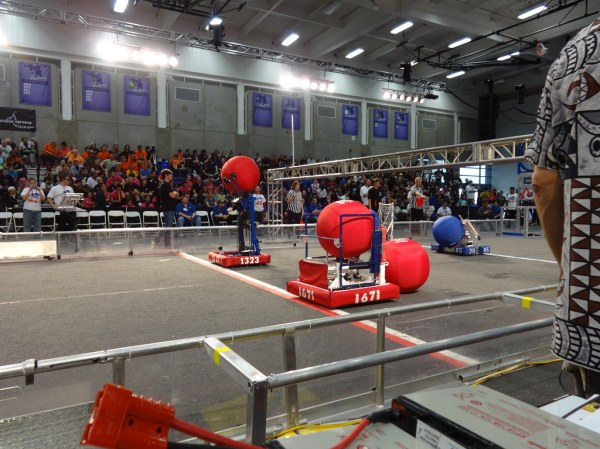 Match from 2014 FRC Game - Aerial Assist