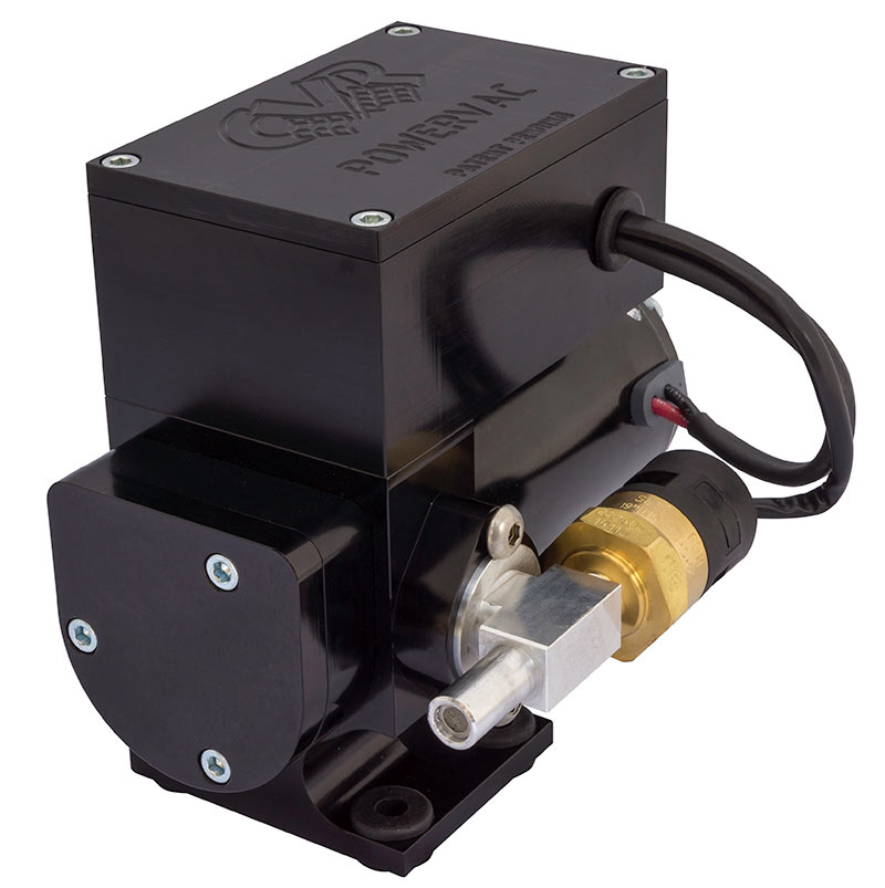 12 Volt Electric Vacuum Pump \u2013 Black Anodized CVR High Performance