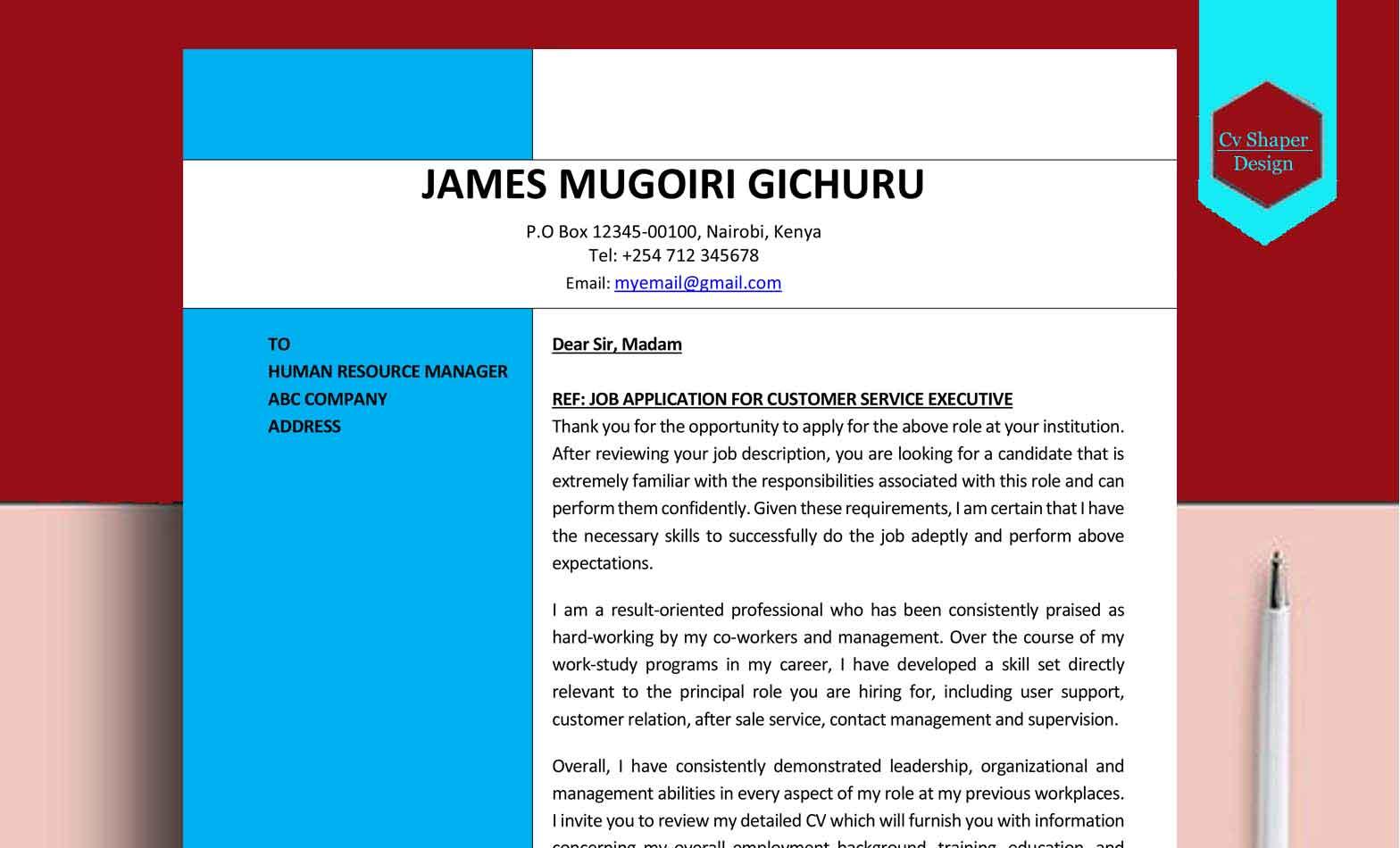 cover letter generator resume cover letter generator