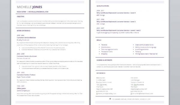 151 CV templates free to download in Microsoft Word format