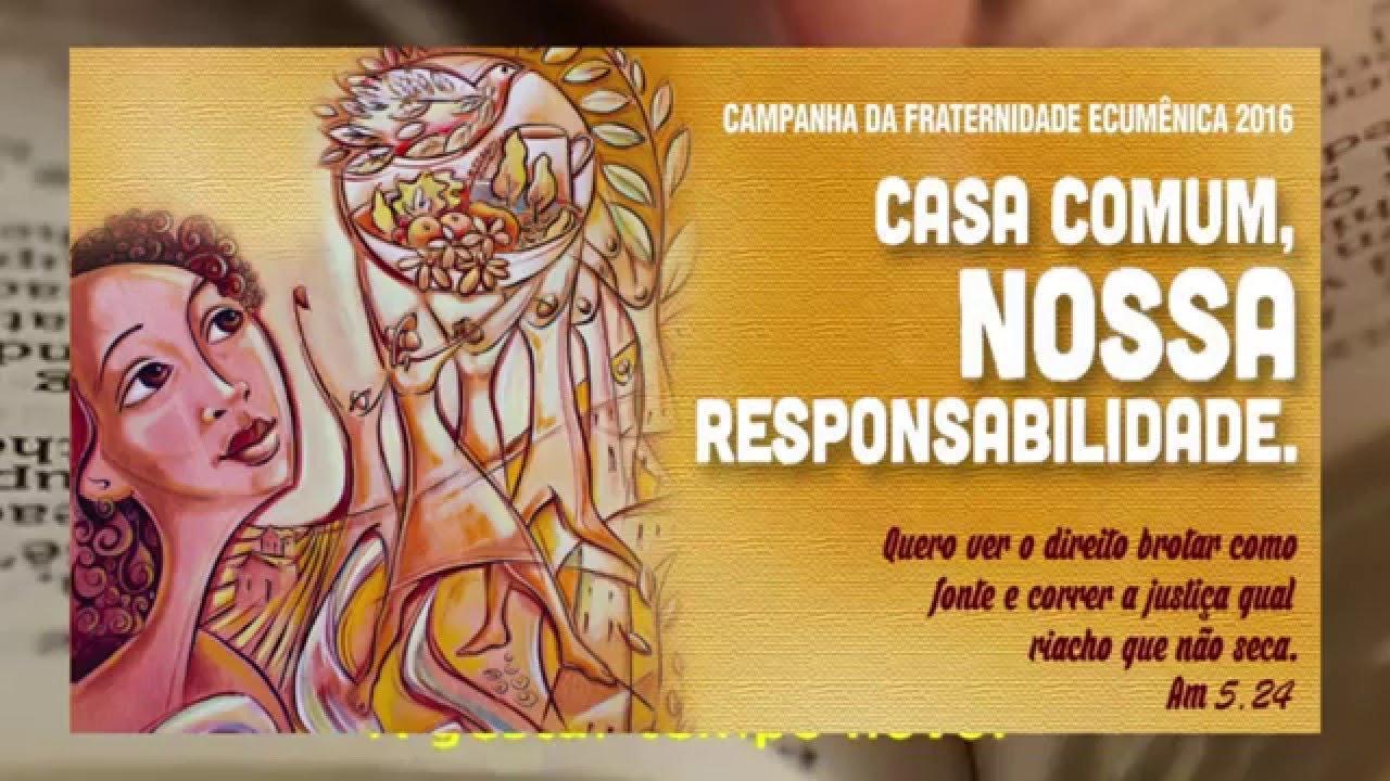 """Luiz Beltrão, Regional CVX DF, """"Saneamento e Campanha da Fraternidade"""""""
