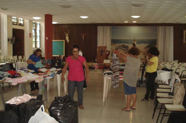 Regional Minas promove bazar paroquial
