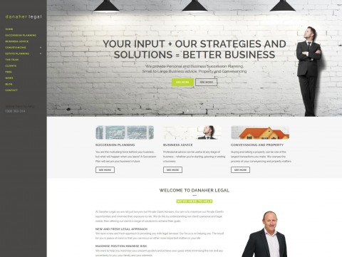 Website Designers Wallan - Danaher Legal