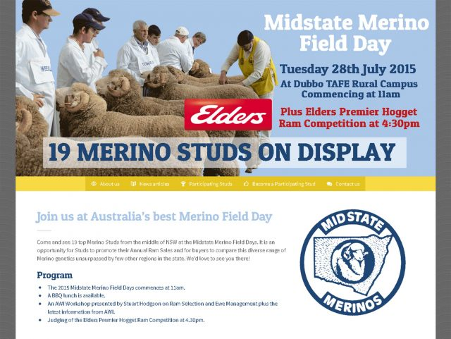 Midstate Merino Field Day