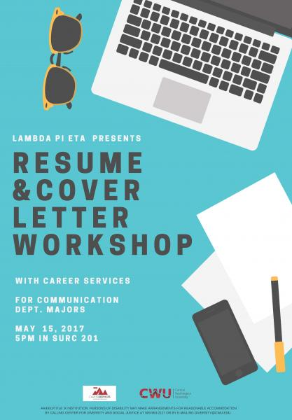 Communication Resume and Cover Letter Workshop