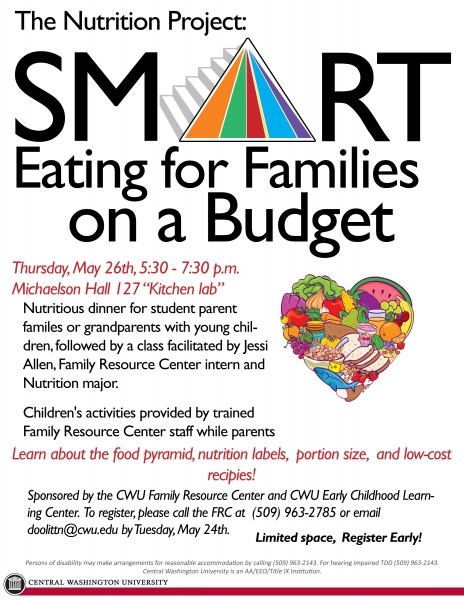 Family Resource Center The Nutrition Project Smart eating for