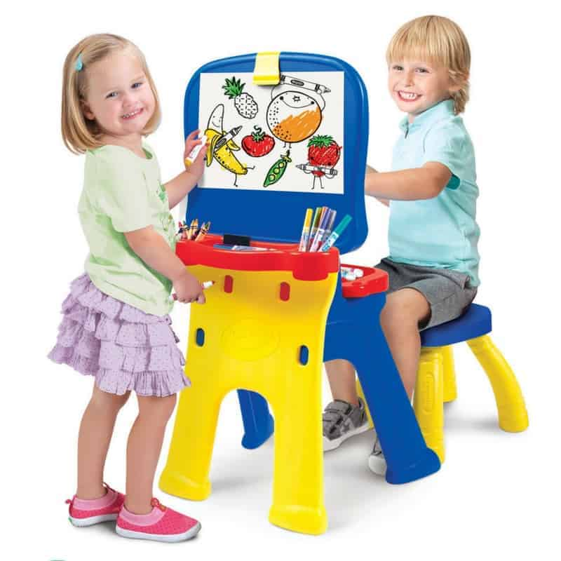 Crayola Triple The Fun Art Studio Cxc Toys Amp Babies