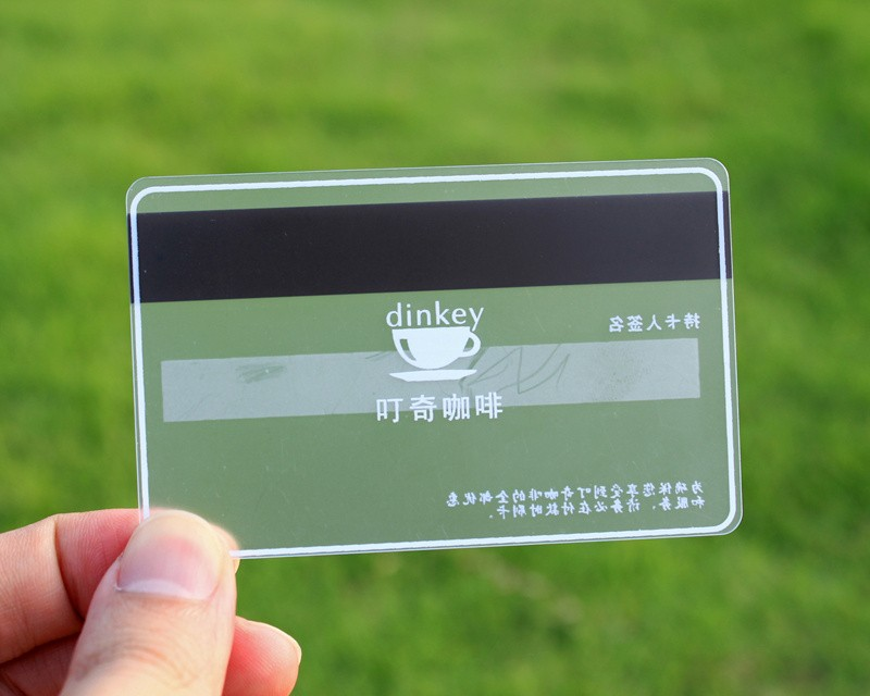 Transparent Plastic Cards Customized Clear Plastic Business Card